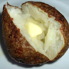 Basted Baked Potato