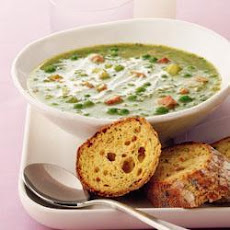 Herb-scented Ham And Pea Soup