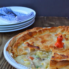 Cheesey Vegetable Puff Pie