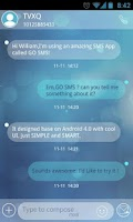 Screenshot of GO SMS Pro Briefness Theme EX