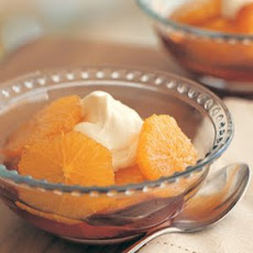 Caramel Oranges with Mascarpone