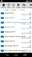 Screenshot of SD File Manager/Explorer