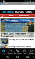 Screenshot of KCCI 8 News and Weather