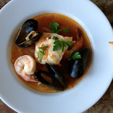Spicy Seafood & Fennel Soup