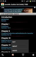 Screenshot of JJA- Juvenile Justice Act 1986