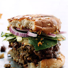 Tapenade-Filled Burgers