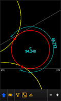 Screenshot of GEO CALC [ Phone / Tablet ]