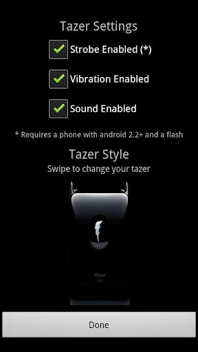 iTazer - 屁股踢版