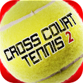 Download Android Game Cross Court Tennis 2 for Samsung