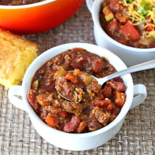 Low Calorie Vegetarian Chili Recipes