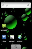 Screenshot of 3D Bubbles Live Wallpaper Lite