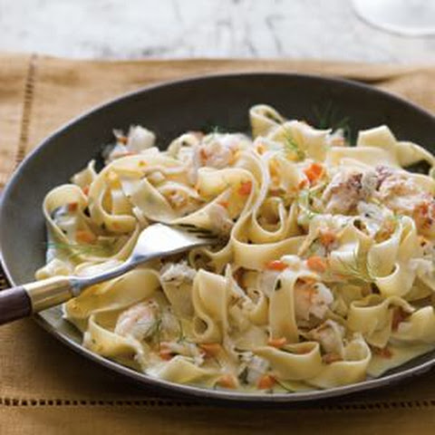 Fettuccine with Crab and Fennel
