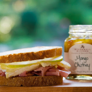 Ham, Brie and Apple Sandwich