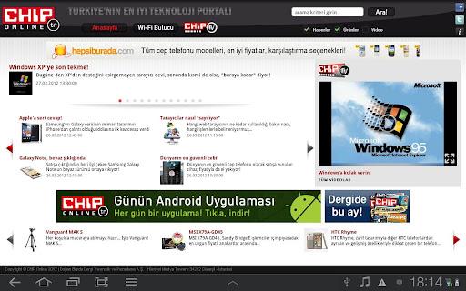 CHIP Online Tablet