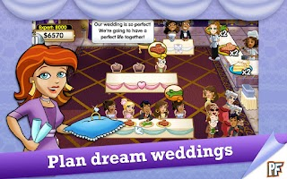 Screenshot of Wedding Dash Deluxe