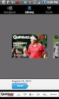Screenshot of Golf World