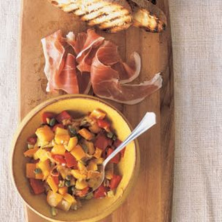 Spanish Peperonata with Olives and Capers