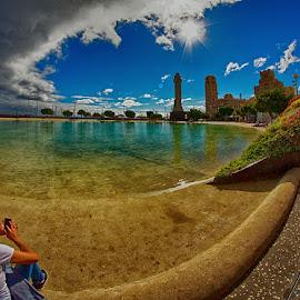The photographer by Radu Eftimie - City,  Street & Park  Vistas ( tenerife, santa cruz, plaza espana )