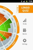 Screenshot of Lingo Quiz Lite