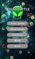 Screenshot of Aliens Popper