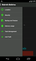 Screenshot of Antivirus Task Manager
