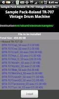 Screenshot of Electrum BOSS DR-550 Samples