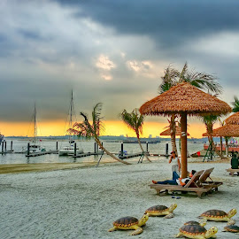 Travel by Max Samson - Instagram & Mobile Android ( veera, johor, hdr, travel, beach, mobile )