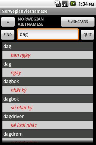 Norwegian Vietnamese Dict