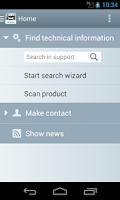Screenshot of Industry Online Support