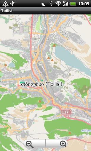 Tbilisi Street Map