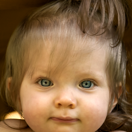 Gianna Up Close by Joe Saladino - Babies & Children Child Portraits ( child, family, baby, portrait, eyes,  )