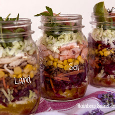 Rainbow Salad-in-a-Jar
