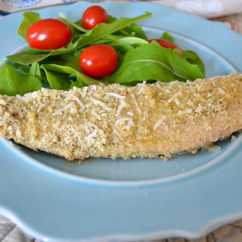 Gluten Free Herb and Garlic Crusted Tilapia