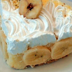 Crustless Banana Cream Pie