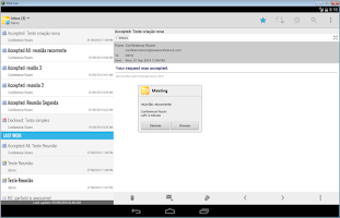 Screenshot of Mobile Access for Outlook OWA