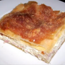 Tiropita (Greek Savoury Cheese Pie)