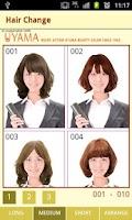Screenshot of HAIR CHANGE FREE