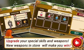 Screenshot of Touch Touch Magic Battle