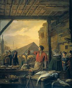 RIJKS: Ignatius Josephus Van Regemorter: painting 1827