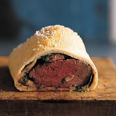 raichlen s salt crusted beef tenderloin grilled in cloth lomo al trapo ...