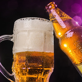 Beer commercial by Victor Voicu - Food & Drink Alcohol & Drinks ( beer, alcohol, thirsty, pink, commercial, the mood factory, mood, lighting, sassy, colored, colorful, scenic, artificial, lights, scents, senses, hot pink, confident, fun, mood factory  )