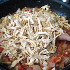 Shredded Chicken for Enchiladas, Tostadas, Tacos...
