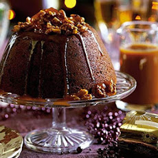 Blitz-&-bake sticky toffee Christmas pud