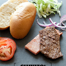 Uruguayan Steak Sandwich