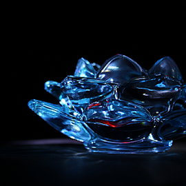 Lotus by Hemang Shukla - Artistic Objects Glass