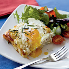 Rösti Casserole with Baked Eggs