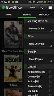 BoxOffice - screenshot
