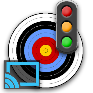 Archery timer for ChromeCast