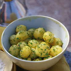 Herbed Baby Potatoes with Lemon Vinaigrette