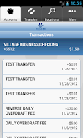 Screenshot of Village Bank